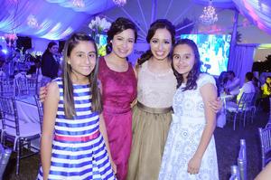28102015 Annie, Ana, Mariela y Michelle.