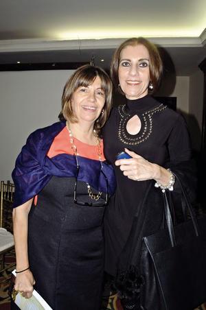 28102015 Dolores Quintalla y Laura Abdo.