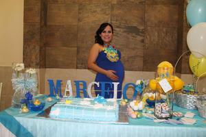 28102015 SERá MAMá PRONTO.  Pamela Arratia Romero espera con ansias la llegada de Marcelo.
