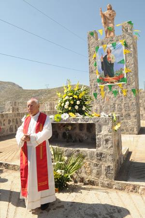 El obispo de Torreón presidió los actos.