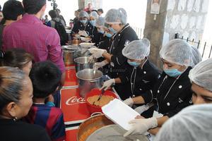 Este es el primer evento donde se trabaja con las universidades que ofrecen la carrera de Gastronomía y/o Turismo.