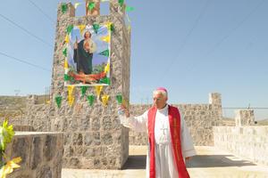 Previo a la reliquia se realizó una misa en honor a San Judas.
