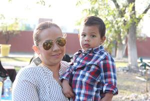 Claudia y Diego
