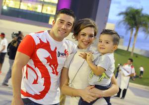Andrés, Bárbara y Jerson