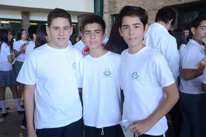 Alfredo, Ignacio y Ernesto