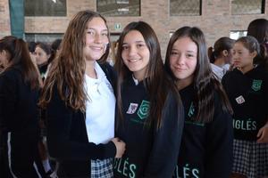 Jimena, Mariana y Ángela