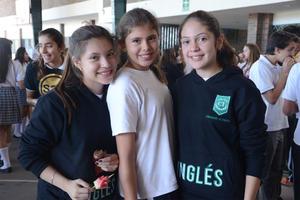 Sofía, Ana Paola y Natalia