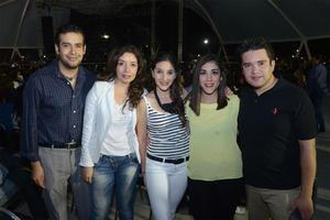 31102015 EN FAMILIA.  Malú, Emiliano, Maru, Bernardo y Arturo.