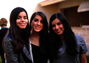 Cecy, Sofía y Marcela