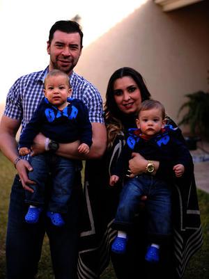 Franco, Mariano, Carlos y Ana