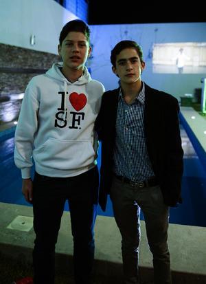 Ricardo y Mikel