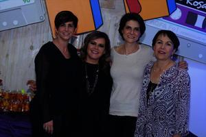Laura, Silvia, Gisela y Gaby