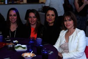 Lily, Erika, Lupita y Cristy