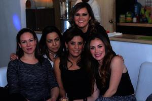 Maru, Helda, Jose, Betty y Silvia