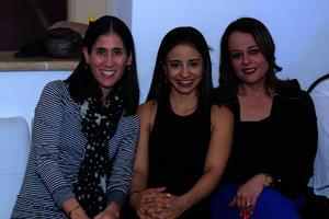 Mónica, Hayde y Alejandra