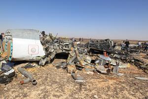 """""""La destrucción tuvo lugar en el aire y los fragmentos resultaron esparcidos por una superficie de cerca de 20 kilómetros cuadrados"""", dijo Víctor Sorochenko, director ejecutivo del CAI, a la prensa rusa tras visitar el lugar del accidente."""
