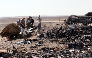 La mayoría de los cadáveres recuperados hasta el momento en el lugar de los hechos estaban incinerados, informaron funcionarios de seguridad y militares egipcios.