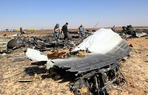 Un avión ruso de pasajeros con más de 224 personas a bordo se estrelló en  Sinaí, más de 20 minutos después de despegar de un balneario en el mar Rojo popular entre los turistas rusos.