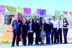02112015 Autoridades de la escuela y profesores de la Academia de Artes.