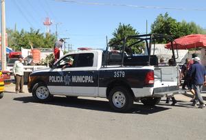 Se implementó un operativo de seguridad por el Día de Muertos.