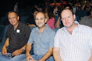 03112015 Alejandro Pérez, Sergio Pérez y Jorge Villalobos.