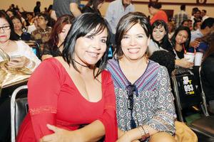 04112015 Clau Ramos y Marthita de la Cruz.