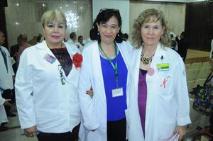 05112015 María Josefa Jiménez Bautista, Leonila Valdez y María del Carmen García.