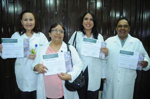 05112015 María Antonieta Garza, Esperanza Peña, Luisa Isabel Villegas Jasso y Guillermo Martínez.
