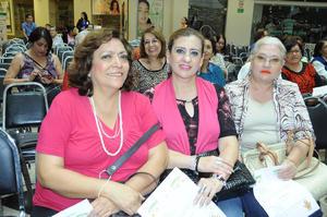 08112015 Rosario Moreno, Susana Pereyra y Rita Huerta.