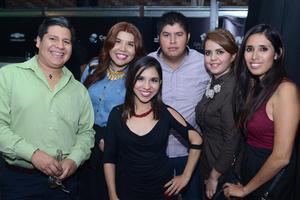09112015 Andrés, Jessica, Eréndira, Paul, Gaby y Mariana.