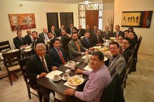 09112015 NUEVA MESA DIRECTIVA.  Integrantes del Colegio de Abogados de La Laguna.