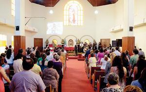 08112015 Placaconmemorativa por el decreto de elevación del Templo San Pablo a categoría de edificio o monumento histórico del municipio de Torreón, Coah.