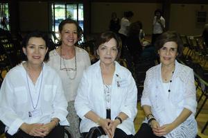 08112015 Martha, Esperanza, Angelina y Martha.