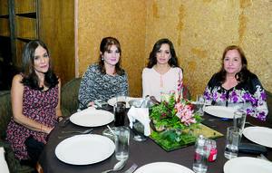 09112015 EN RECIENTE EVENTO.  Socorro, Adriana, Nena y Dora.