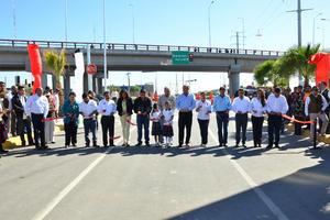 Fue entregada a la ciudadanía la obra del paso superior Periférico-Bravo.