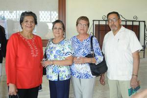 11112015 Rosalinda Martínez, Leticia Rocha y Paty Vallejo.