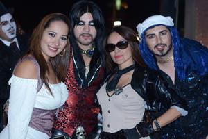 Laura, Orlando, Liliana y Miguel Ángel