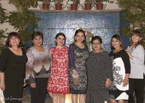 14112015 Sra. Romelia de Montes, Pilar Monsiváis, Diana Arreola, Georgina Arreola, Juanita de Arreola, Genoveva Monsiváis y Sol Montes.