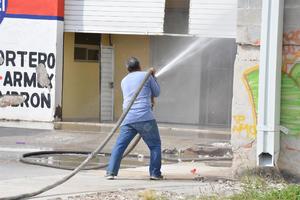 Se utilizaron poco más de 80 mil litros de agua.