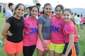 17112015 Marcela, Sandy, Sofía, Andrea y Natalia.