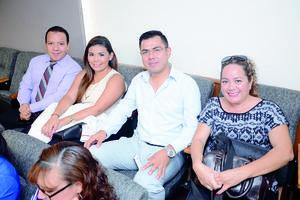17112015 Salvador Espino, Cathy Codina, José Muñoz y Bonnie Ruiz.