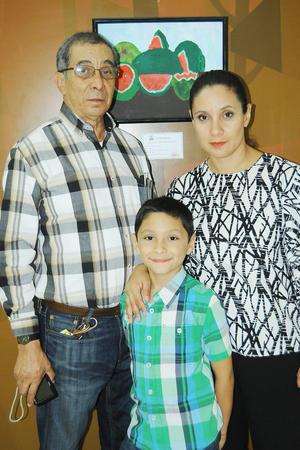 18112015 Carlos Sosa, Diego Acosta y Cecilia Sosa.