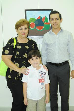 18112015 Beatriz Flores, Gabriel Ceniceros e Isidro Villegas.