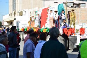 Se celebró el Desfile Deportivo Conmemorativo del 105 aniversario de la Revolución Mexicana.