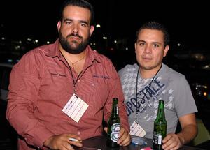 20112015 AMIGOS.  Carlos y Salvador.
