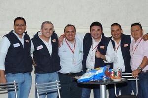 20112015 César Ortega, Javier Ceballos, Felipe González, Miguel Neri, Juan Carlos de la Cruz y Laurencio Durán.