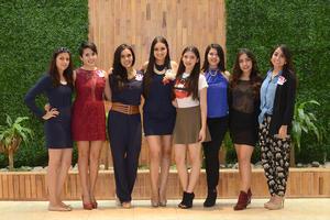 21112015 Amira Darwich, Ademy González, Beatriz Rodríguez, Ileana González y Alejandro Almonaci.