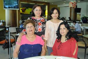 20112015 Rosa María García, Rosy Hernández, Mary Barrios y Cristy Díaz.