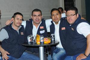 20112015 Gaby, Jazmín, Cristy, Samuel, Laura, Jorge y Carlos.