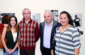 23112015 Angie, Salvador, Miguel y Esther.